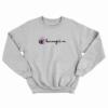 Peppa Pig Champion Parody Sweatshirt