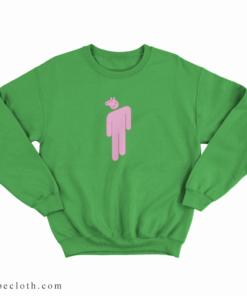 Billie Eilish x Peppa Pig Parody Sweatshirt