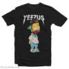 Kanye West Yeezus Bart Simson Tour T-Shirt