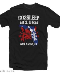 AEW Kenta Go To Sleep Club T-Shirt