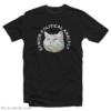 Funny Cat Senior Political Analyst T-Shirt