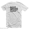 Master League Ivarov Espimas Minanda Castolo T-Shirt