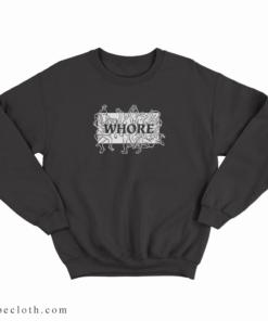 Adult Graphic Orgy Whore Sweatshirt