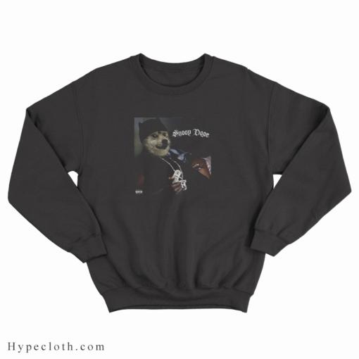 Elon Musk Snoop Dogg Dogecoin Sweatshirt