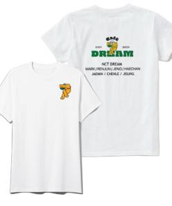 NCT Kpop Jisung Seven Dream Cafe T-Shirt