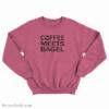 Shark Tank Coffee Meets Bagel Sweatshirt