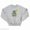 Garfield When I Die I May Not Go To Heaven Sweatshirt