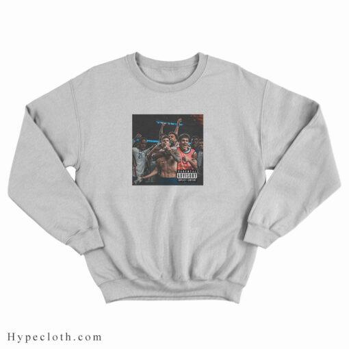 USMNT Only Christian Pulisic Parental Advisory Sweatshirt