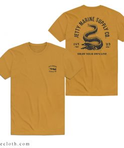 Outer Banks John B Jetty Marine Draw Your Own Line T-Shirt